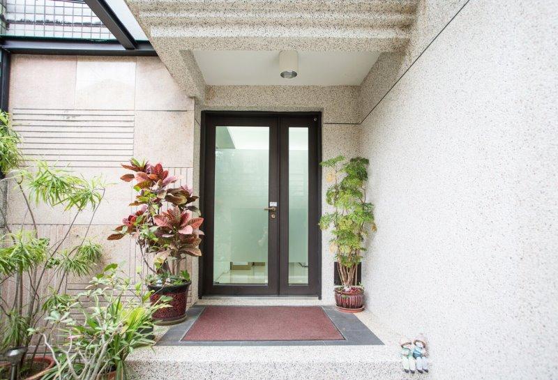 【玻璃隔音門】台北鄭宅