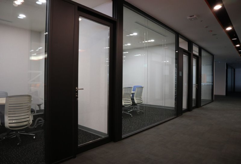 【玻璃隔音門】辦公室