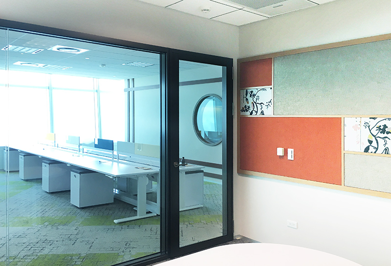 【玻璃隔音門及固定窗】台北101-Google辦公室