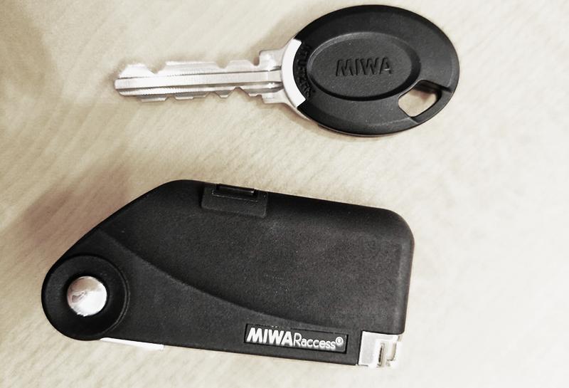MIWA iEL Zero 電控鎖鑰匙