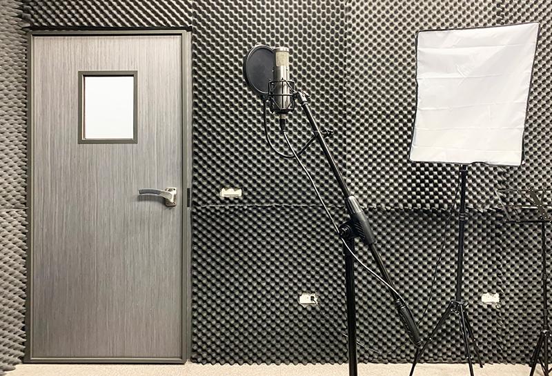 【180型專業隔音門】新竹名流音樂錄音室