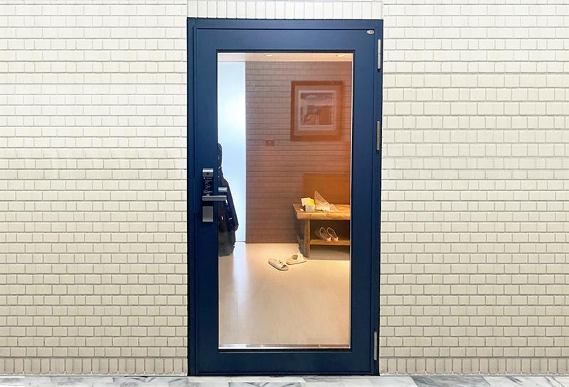 【玻璃隔音門】台北Z公館